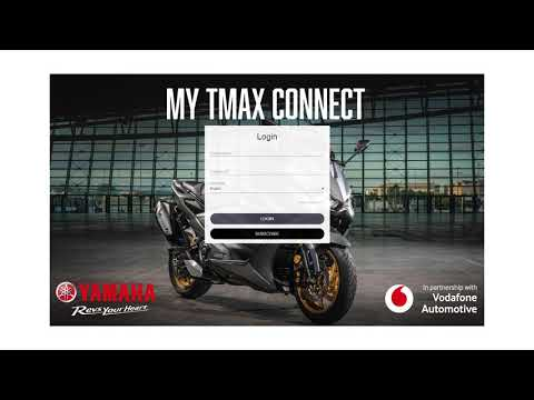 My TMAX Connect (ENG) – Activation MY2021