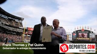 "Governor Quinn Proclaims ""Frank Thomas Day"" in Illinois"