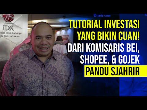 Tips Investasi Dari Komisaris BEI, Shopee, & Gojek