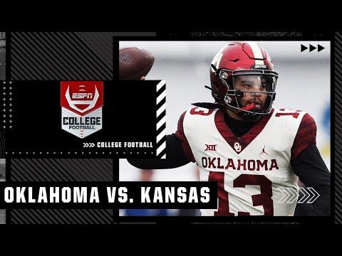 Oklahoma Sooners at Kansas Jayhawks   Full Game Highlights