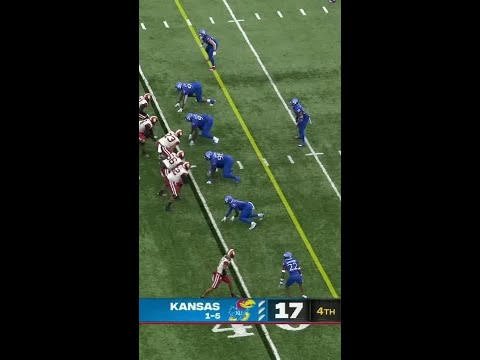 Caleb Williams extends the Sooners' lead with 40-yard TD in the fourth quarter vs. Kansas | #Shorts