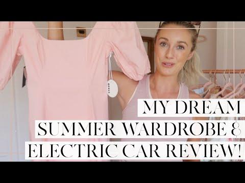 MY DREAM SUMMER WARDROBE & ELECTRIC CAR REVIEW! // Fashion Mumblr