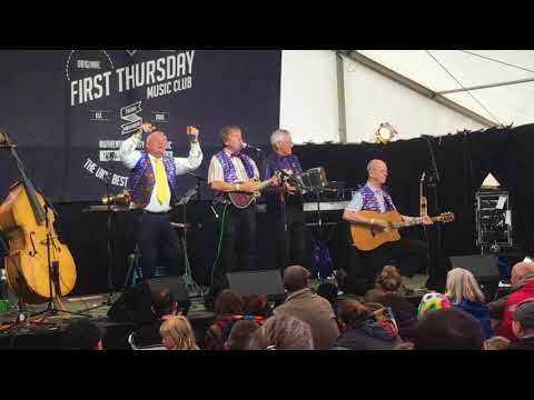 Concertina Comedy at Towersey Festival 2018