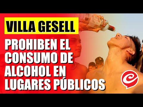 Prohiben el alcohol en calles, playas, autos y lugares públicos