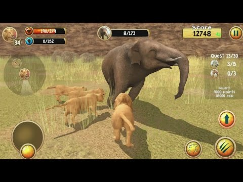 hqdefault Wild Lion Simulator 3D Android Gameplay #5 Technology