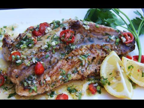 Grilled Monkfish #TastyTuesdays | CaribbeanPot.com