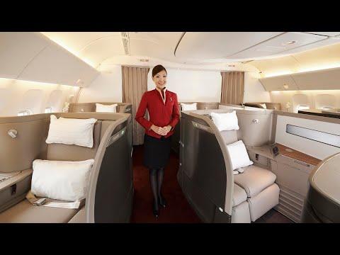 Cathay Pacific Boeing 777 First Class - Hong Kong to Frankfurt (PHENOMENAL)