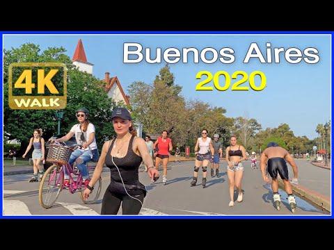 【4K】WALK Buenos Aires ARGENTINA 4K video 2020 Travel vlog