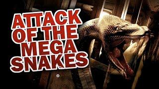 Attack of the Mega Snakes (Sci-Fi-Horror, ganzer Film auf deutsch, HD, komplett)