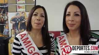 Las gemelas Violeta y Claudia