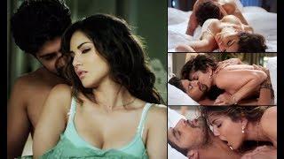 Sunny Leone All H+O+T Sex Scenes On Bed.