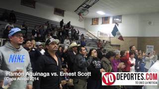 Ramon Aguinaga vs.  Ernest Scott