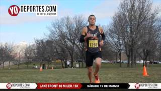 10 Miler Lake Front Run Chicago Saturday March 19