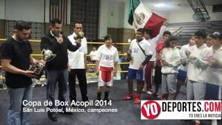 Primer Copa de Box Acopil 2014 Cicero vs. San Luis Potosí