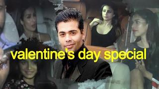 Valentine's Day : करन जौहर के घर पर बॉलीवुड की तमाम हस्तियों ने मनाया वैलेंटाइन डे