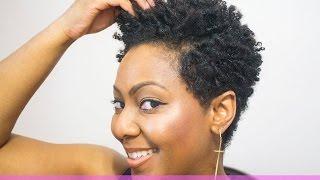video short natural hair fabulous finger coils tutorial