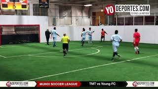 TMT vs. Young FC Mundi Soccer League en Chitown Futbol