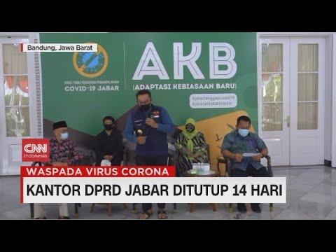 Kantor DPRD Jabar Ditutup 14 Hari