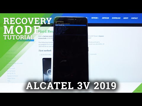 How to Enter Recovery Mode in ALCATEL 3V 2019 – Exit Recovery Mode