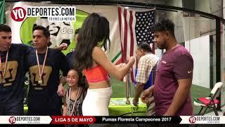 Pumas Floresta campeones 2017 5 de Mayo Soccer League