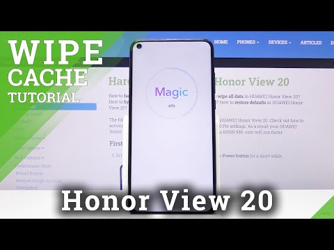 How to Wipe Cache Partition on Honor View 20 - Reset Cache Files