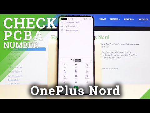 How to Locate PCBA Number in OnePlus Nord