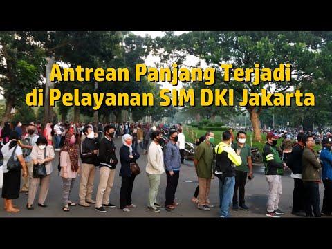 Pemohon Perpanjangan SIM Padati Pelayanan SIM DKI Jakarta