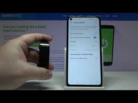 How to Use Do Not Disturb Mode in Huawei Band 4 Pro - Mute All Alerts