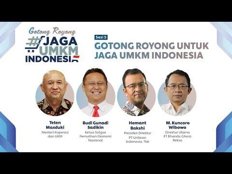 #JagaUMKMIndonesia: Gotong Royong untuk Jaga UMKM Indonesia