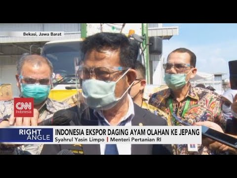 Indonesia Ekspor Daging Ayam Olahan ke Jepang
