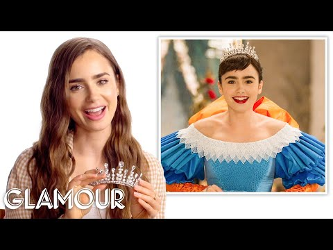Lily Collins Breaks Down Her Best Movie Looks | Glamour