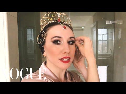 Ballerina Isabella Boylston's Black Swan Makeup Transformation | Beauty Secrets | Vogue