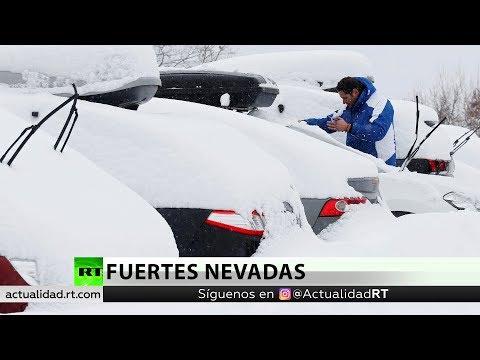 Al menos 20 muertos por fuertes nevadas en Europa