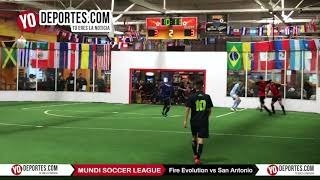 Fire Evolution vs. San Antonio Mundi Soccer League