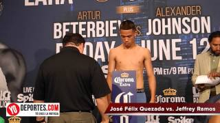 Jose Felix Quezada vs  Jeffrey Ramos