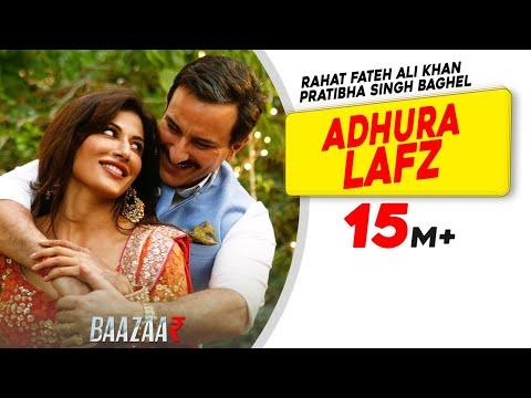 Adhura Lafz Song Lyrics