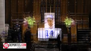 Ernie Banks funeral en Chicago