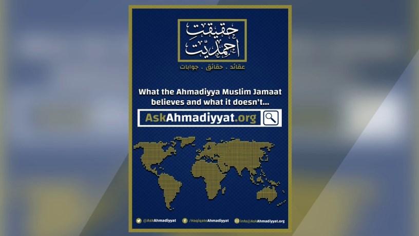 askahmadiyya org new website to answer allegations and ahmadiyya beliefs