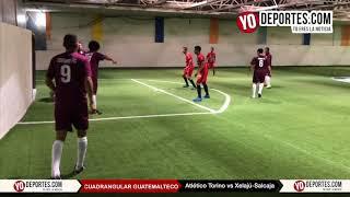 Atlético Torino vs combinado América Salcajá Xelajú de Guatemala en Chicago