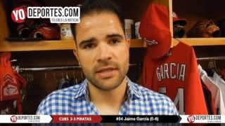 Jaime Garcia frena a los Cachorros de Chicago