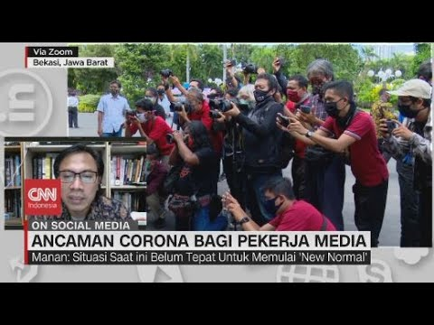 Ancaman Corona bagi Pekerja Media