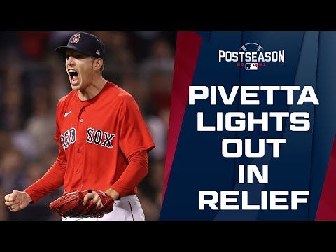 Nick Pivetta DOMINATES in relief, striking out 7 over 4 shutout innings!