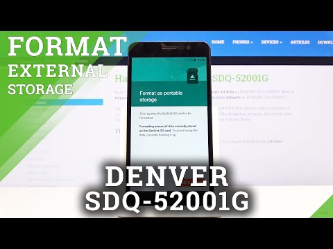 How to Format SD in DENVER SDQ-52001G – Format Memory Card in Android