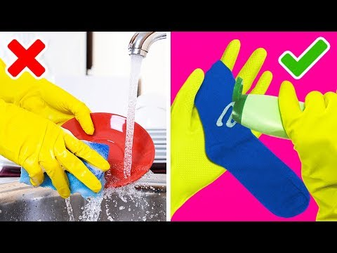 38 GENIUS CLEANING HACKS