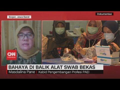 Epidemiolog: Sesudah Digunakan Alat SWAB Harus Dipatahkan