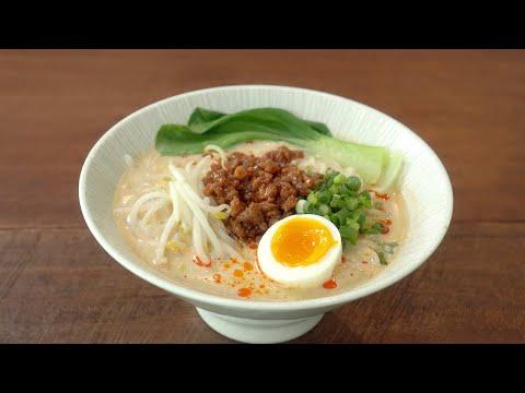 국물맛이 끝내주는 탄탄면 라멘 만들기 :: 쉽지만 전문점 뺨치는 맛 :: 라면 레시피 :: Tantanmen Ramen Recipe :: Homemade Ramen