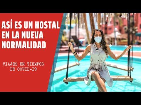 CÓMO es HOSPEDARTE en un HOSTAL & HOTEL en la NUEVA NORMALIDAD I  Cancún