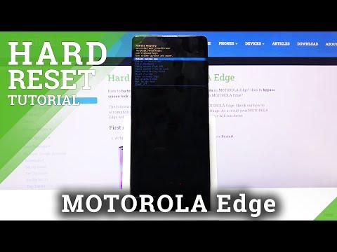 How to Hard Reset MOTOROLA Edge – Wipe Data / Bypass Screen Lock