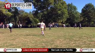 San Luis vs. La Familia Final 5 de Mayo Soccer League