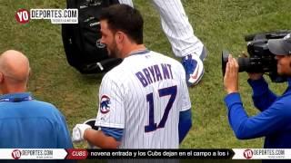 Kris Bryant enloquece el Wrigley Field